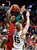 Fresno State's Braeden Anderson shoots over Colorado State's Colton Iverson during the first half of a Mountain West Conference tournament NCAA college basketball game on Wednesday, March 13, 2013, in Las Vegas. (AP Photo/Isaac Brekken)