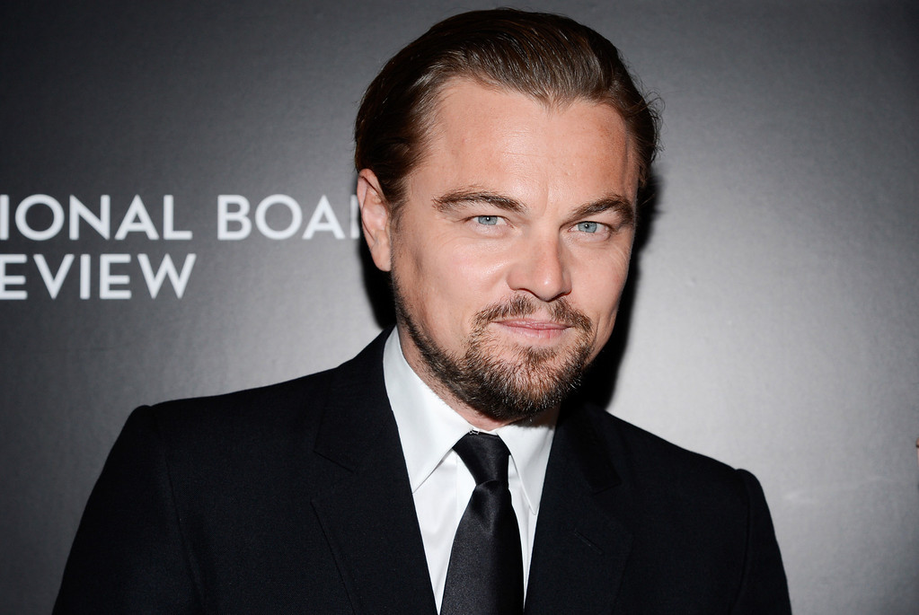 ". 2014 Academy Award Nominee for Best Actor in a Leading Role: Leonardo DiCaprio in ""The Wolf of Wall Street.\"" (Photo by Evan Agostini/Invision/AP, File)"