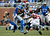Calvin Johnson #81 of the Detroit Lions catches a fourth quarter 26-yard pass in front of Robert McClain #27 of the Atlanta Falcons at Ford Field on December 22, 2012 in Detroit, Michigan.  Johnson broke the NFL single season yardage record formally held by Jerry Rice during this play. (Photo by Gregory Shamus/Getty Images)