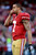 Quarterback Colin Kaepernick #7 of the San Francisco 49ers looks on during warm ups prior to the NFC Divisional Playoff Game against the Green Bay Packers at Candlestick Park on January 12, 2013 in San Francisco, California.  (Photo by Harry How/Getty Images)