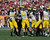 Linebcaker Jake Ryan #47 of the Michigan Wolverines recovers a fumble against the South Carolina Gamecocks in the Outback Bowl January 1, 2013 at Raymond James Stadium in Tampa, Florida.  (Photo by Al Messerschmidt/Getty Images)