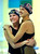 Annie Graves, left, and Megan Grier, right, embraced after racing in the 400_Yard Freestyle Relay for Chaparral High School. The Colorado Coaches Invitational Swimming and Diving Meet wrapped up Saturday night, December 15, 2012.  Karl Gehring/The Denver Post