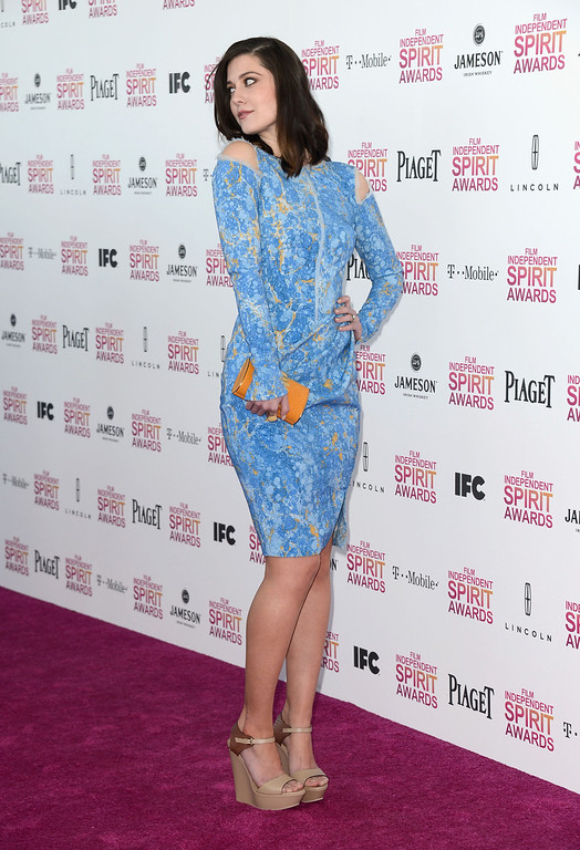 Description of . SANTA MONICA, CA - FEBRUARY 23:  Actress Mary Elizabeth Winstead attends the 2013 Film Independent Spirit Awards at Santa Monica Beach on February 23, 2013 in Santa Monica, California.  (Photo by Frazer Harrison/Getty Images)
