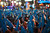 Revelers stand in Times Square during New Year's Eve celebrations in New York December 31, 2012. REUTERS/Keith Bedford