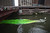 Workers begin dying the Chicago River green to kick off the city's St. Patrick's day celebration on March 16, 2013 in Chicago, Illinois. The dying of the river has been a tradition in the city for 43 years.  (Photo by Scott Olson/Getty Images)