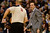 Los Angeles Clippers head coach Vinny Del Negro questions a charging call on power forward Blake Griffin (32) during the first half at the Pepsi Center on Tuesday, January 1, 2013. AAron Ontiveroz, The Denver Post