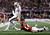 Texas A&M quarterback Johnny Manziel is run out of bounds by Oklahoma 's Aaron Colvin (14) during the second half of the Cotton Bowl NCAA college football game Friday, Jan. 4, 2013, in Arlington, Texas. (AP Photo/LM Otero)
