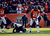Denver Broncos free safety Rahim Moore (26) and Denver Broncos cornerback Chris Harris (25) celebrate an incomplete pass intended for Baltimore Ravens wide receiver Anquan Boldin (81) during the first quarter.  The Denver Broncos vs Baltimore Ravens AFC Divisional playoff game at Sports Authority Field Saturday January 12, 2013. (Photo by Hyoung Chang,/The Denver Post)