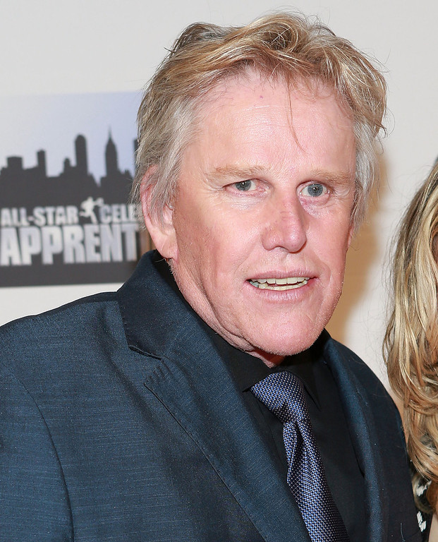 "Description of . Gary Busey attends ""All Star Celebrity Apprentice\"" Finale at Cipriani 42nd Street on May 19, 2013 in New York City.  (Photo by Robin Marchant/Getty Images)"