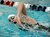 Fairview High School swimmer Cathrine Kuhn warmed up before her 200-yard Freestyle race Saturday night. The Colorado Coaches Invitational Swimming and Diving Meet wrapped up Saturday night, December 15, 2012.  Karl Gehring/The Denver Post