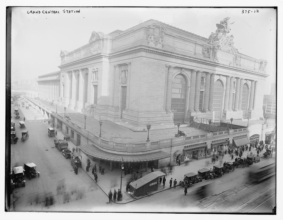 Description of . Grand Central Station, undated (Library of Congress)