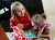 In this Monday, Feb. 25, 2013, photo, Coy Mathis, left, plays with her sister Auri, at their home in Fountain, Colo.  Coy has been diagnosed with Gender Identity Disorder. Biologically, Coy, 6, is a boy, but to her family members and the world, Coy is a transgender girl. (AP Photo/Brennan Linsley)