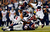 Danieal Manning #38 of the Houston Texans gets tackled by Matthew Slater #18, Niko Koutouvides #90, Marquice Cole #23, and Brandon Bolden #38 of the New England Patriots during the 2013 AFC Divisional Playoffs game at Gillette Stadium on January 13, 2013 in Foxboro, Massachusetts.  (Photo by Jim Rogash/Getty Images)