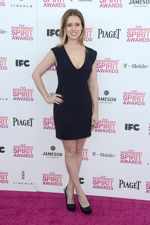 Description of . SANTA MONICA, CA - FEBRUARY 23:  Actress Manuela Velles attends the 2013 Film Independent Spirit Awards at Santa Monica Beach on February 23, 2013 in Santa Monica, California.  (Photo by Frazer Harrison/Getty Images)