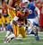Iowa State receiver Jarvis West looks for running room after hauling in a pass in the first quarter against Tulsa duringf the Liberty Bowl NCAA college football game in Memphis, Tenn., Monday, Dec. 31, 2012. (AP Photo/Charles A. Smith)