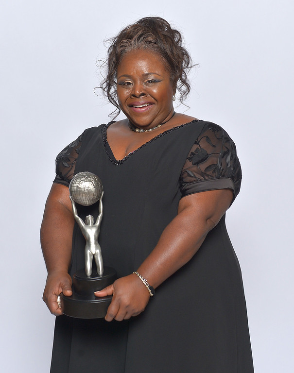 Description of . LOS ANGELES, CA - FEBRUARY 01:  Actress Cassi Davis, winner of Outstanding Actress in a Comedy Series for \'Tyler Perry\'s House of Payne,\' poses for a portrait during the 44th NAACP Image Awards at The Shrine Auditorium on February 1, 2013 in Los Angeles, California.  (Photo by Charley Gallay/Getty Images for NAACP Image Awards)