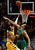 Denver Nuggets' Andre Iguodala (L) goes to the basket against Chicago Bulls' Joakim Noah during the second half of their NBA basketball game in Chicago, Illinois March 18, 2013. REUTERS/Jim Young