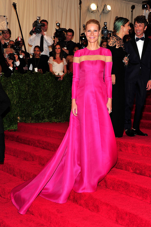 Description of . Gwyneth Paltrow attends The Metropolitan Museum of Art's Costume Institute benefit celebrating