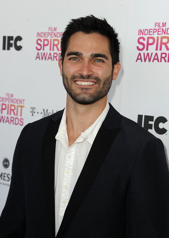 Description of . SANTA MONICA, CA - FEBRUARY 23:  Actor Tyler Hoechlin attends the 2013 Film Independent Spirit Awards at Santa Monica Beach on February 23, 2013 in Santa Monica, California.  (Photo by Kevin Winter/Getty Images)