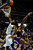 Denver Nuggets small forward Kenneth Faried (35) tips the ball in on the Nuggets' fourth attempt against the Los Angeles Lakers during the first half at the Pepsi Center on Wednesday, December 26, 2012. AAron Ontiveroz, The Denver Post