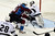 DENVER, CO. - JANUARY 22: Los Angeles Kings goalie Jonathan Quick (32) blocks a shot by Colorado Avalanche left wing Jamie McGinn (11) during a five-on-three power play for Colorado in the second period. The Colorado Avalanche hosted the Los Angeles Kings at the Pepsi Center on January, 22, 2013.   (Photo By John Leyba / The Denver Post)