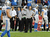 Head Coach Jim Schwartz of the Detroit Lions disagrees with a call against the Arizona Cardinals at University of Phoenix Stadium on December 16, 2012 in Glendale, Arizona. Arizona won 38-10. (Photo by Norm Hall/Getty Images)