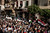 Members of a journalists' union march to Tahrir Square during protests in Cairo, Nov. 27, 2012. Demonstrators began flowing into the streets of Cairo Tuesday for a day of protest against President Mohammed Morsi's effort to assert broad new powers, dismissing his efforts only hours before to reaffirm his deference to Egyptian law and courts. (Ivor Prickett/The New York Times)