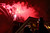 People watch fireworks on the 16th Street Mall on Monday, December 31, 2012. AAron Ontiveroz/The Denver Post
