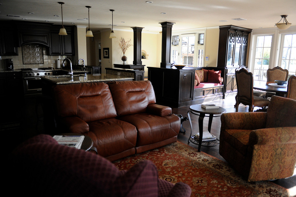 Description of . DENVER, CO - NOVEMBER 13: The redesigned main living room of the Spicer residence on November 13, 2013, in Denver, Colorado. (Photo by Anya Semenoff/YourHub)