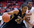 Colorado guard Spencer Dinwiddie (25) drives against Washington State guard Royce Woolridge (22) during the second half of an NCAA college basketball game Saturday, Jan. 19, 2013, in Pullman, Wash. Dinwiddie lead all scorers with 16 points as Colorado won 58-49. (AP Photo/Dean Hare)