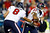 FOXBORO, MA - DECEMBER 10:  Quarterback Matt Schaub #8 of the Houston Texans hands the ball off to running back Arian Foster #23 in the first half against the New England Patriots at Gillette Stadium on December 10, 2012 in Foxboro, Massachusetts.  (Photo by Jared Wickerham/Getty Images)