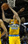 Denver center Kosta Koufos (41) worked under the basket in the second half. The Denver Nuggets defeated the Charlotte Bobcats 110-88 at the Pepsi Center Saturday night, December 22, 2012.  Karl Gehring/The Denver Post