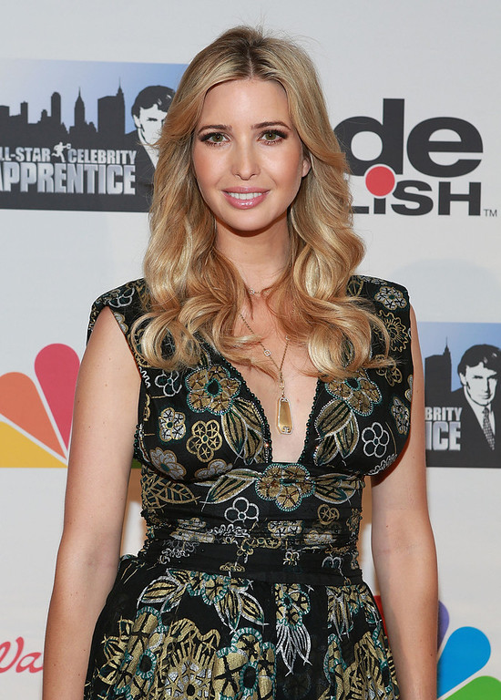 "Description of . Ivanka Trump attends ""All Star Celebrity Apprentice\"" Finale at Cipriani 42nd Street on May 19, 2013 in New York City.  (Photo by Robin Marchant/Getty Images)"