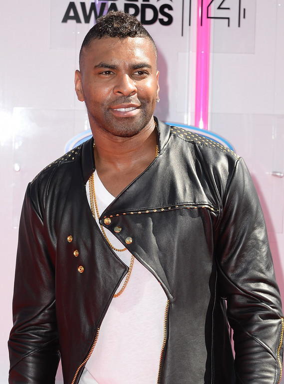 Description of . Ginuwine attends the BET AWARDS '14 at Nokia Theatre L.A. LIVE on June 29, 2014 in Los Angeles, California.  (Photo by Earl Gibson III/Getty Images for BET)