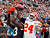 Kansas City Chiefs cornerback Brandon Flowers (24) breaks up a pass in the end zone intended for Cleveland Browns wide receiver Josh Gordon in the first quarter of an NFL football game, Sunday, Dec. 9, 2012, in Cleveland. (AP Photo/Tony Dejak)