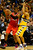 Denver Nuggets point guard Andre Miller (24) pressures Los Angeles Clippers point guard Chris Paul (3) during the second half of the Nugget's 92-78 win at the Pepsi Center on Tuesday, January 1, 2013. AAron Ontiveroz, The Denver Post