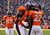 Denver Broncos running back Knowshon Moreno (27) is congratulated by Denver Broncos tackle Orlando Franklin (74) after scoring in the first quarter as the Denver Broncos took on the Kansas City Chiefs at Sports Authority Field at Mile High in Denver, Colorado on December 30, 2012. Tim Rasmussen, The Denver Post