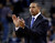 Golden State Warriors head coach Mark Jackson claps as his team plays the Denver Nuggets during the first half of an NBA basketball game, Thursday, Nov. 29, 2012, in Oakland, Calif. (AP Photo/Marcio Jose Sanchez)