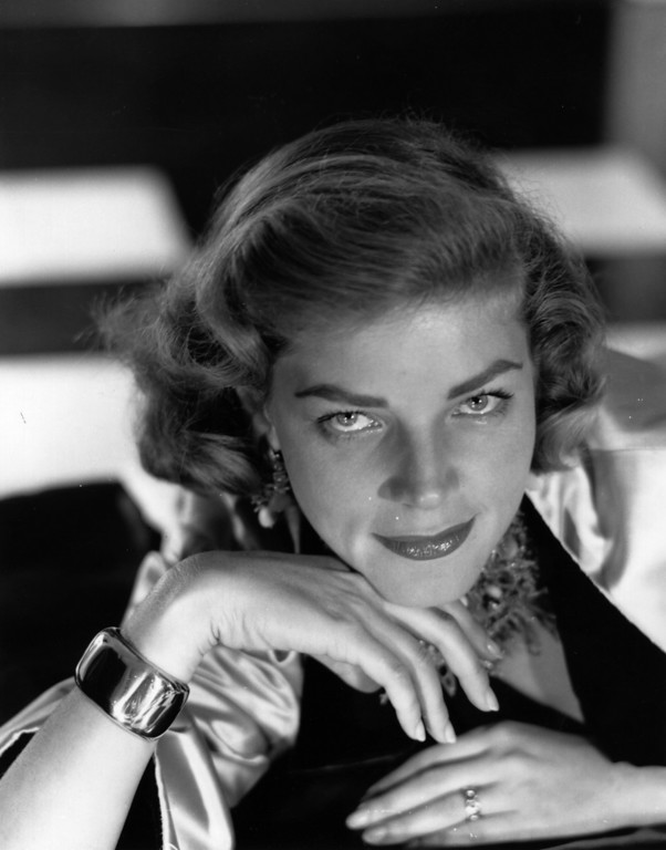 . FILE - AUGUST 12: It has been reported that actress Lauren Bacall has died of a stroke. She was 89 years old. American model, theatre and film actress Lauren Bacall.    (Photo by Baron/Getty Images)
