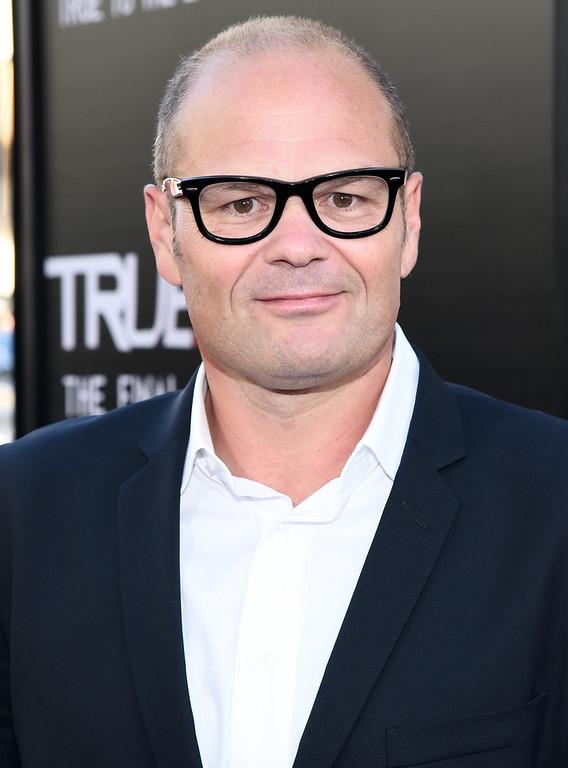 Description of . Actor Chris Bauer attends Premiere Of HBO's