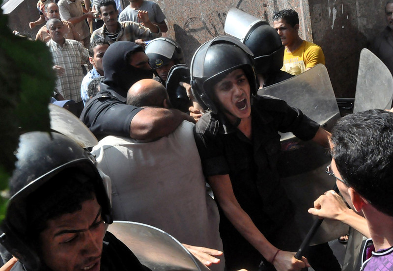 Egyptian forces continue crackdown