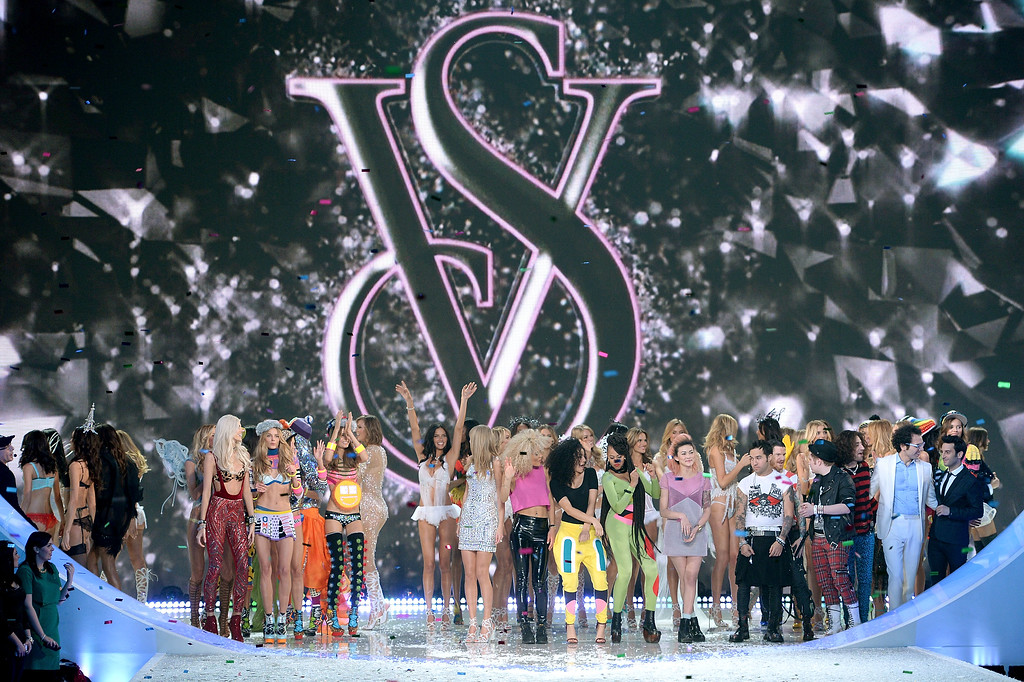 Description of . A general view of atmosphere at the 2013 Victoria's Secret Fashion Show at Lexington Avenue Armory on November 13, 2013 in New York City.  (Photo by Dimitrios Kambouris/Getty Images for Victoria's Secret)