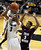 University of Colorado's Xavier Talton takes a shot over Madarious Gibbs during a game against Texas Southern on Tuesday, Nov. 27, at the Coors Event Center on the CU campus in Boulder.  Jeremy Papasso/ Camera