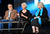 Writer, Director, Executive Producer David Mamet, actress Helen Mirren, and consultant Linda Kenney Baden speak onstage during the