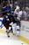 DENVER, CO. - JANUARY 22: Colorado Avalanche left wing Patrick Bordeleau (58) checks Los Angeles Kings left wing Kyle Clifford (13) during the first period. The Colorado Avalanche hosted the Los Angeles Kings at the Pepsi Center on January, 22, 2013.    (Photo By John Leyba / The Denver Post)