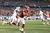 Kenny Stills #4 of the Oklahoma Sooners drops a pass against Dustin Harris #22 of the Texas A&M Aggies during the Cotton Bowl at Cowboys Stadium on January 4, 2013 in Arlington, Texas.  (Photo by Ronald Martinez/Getty Images)