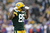 Jermichael Finley #88 of the Green Bay Packers celebrates after catching a pass for a first down against the Minnesota Vikings during the game at Lambeau Field on December 2, 2012 in Green Bay, Wisconsin. The Packers won 23-14. (Photo by Joe Robbins/Getty Images)