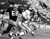 Kansas City Chiefs Mike Garrett (21) carries the ball as two unidentified Green Bay Packers close in, Jan. 15, 1967 in Super Bowl I. (AP photo)