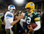 Green Bay Packers quarterback Aaron Rodgers (12) shakes hands with Detroit Lions quarterback Matthew Stafford (9) after an NFL football game Sunday, Dec. 9, 2012, in Green Bay, Wis. The Packers won 27-20. (AP Photo/Mike Roemer)