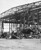 One of the hangars that was burned out at the Naval Air Station on Ford Island, Pearl Harbor, Dec. 7, 1941. (AP Photo)